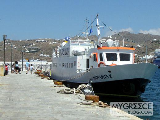 Mykonos pier