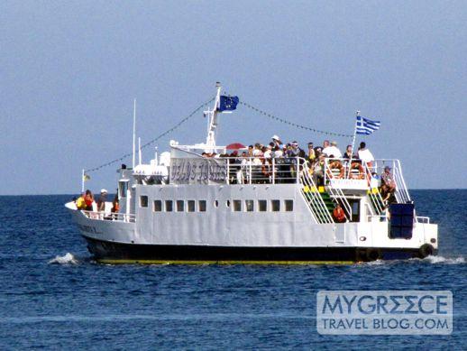 Margarita excursion boat