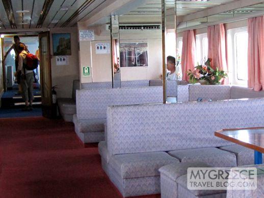 Naxos Star cabin interior