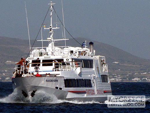 Naxos Star excursion boat