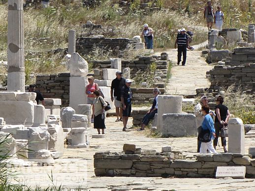 The Agora of the Competialists on Delos Island