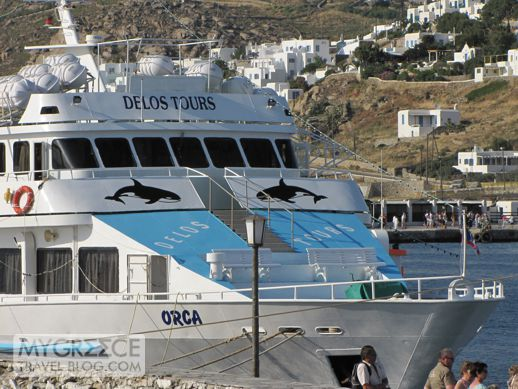 Orca excursion boat