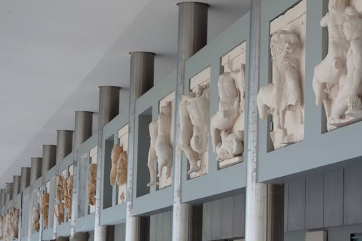 Parthenon Gallery in the Acropolis Museum in Athens