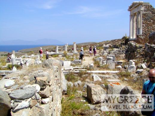 The Temple of Isis on Delos Island