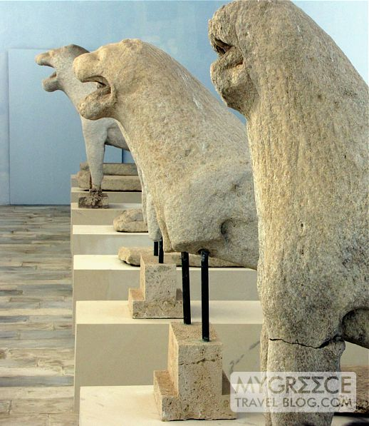 Delian lions