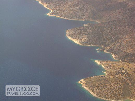 southeast coast of Naxos