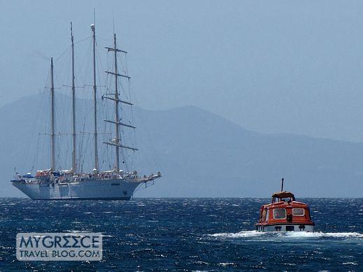 Star Clipper cruise ship