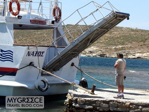 the Naxos Star at Delos