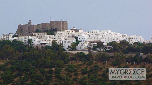Chora and the Holy Monastery of Patmos