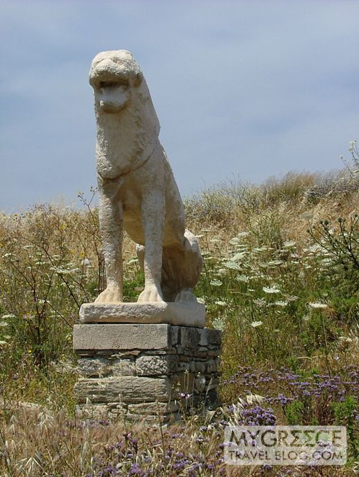Terrace of Lions at Delos