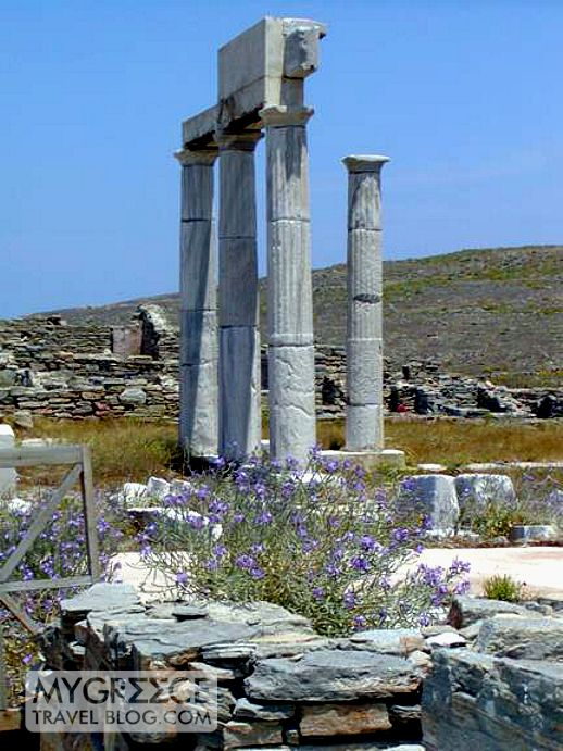Establishment of the Poseidoniasts on Delos