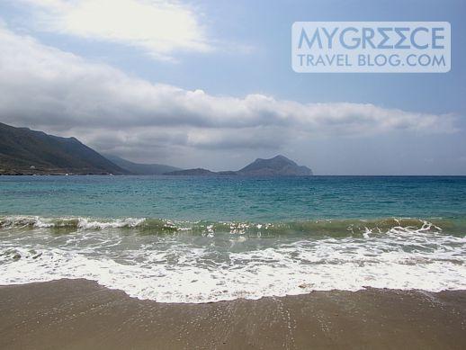 Egali beach on Amorgos