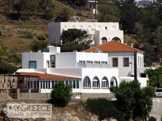 Flisvos restaurant at Grikos Bay on Patmos