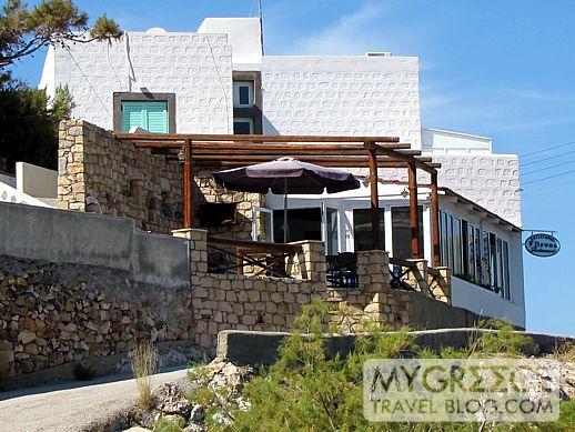 Flisvos restaurant Grikos Bay Patmos