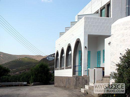 Flisvos taverna Grikos Bay Patmos