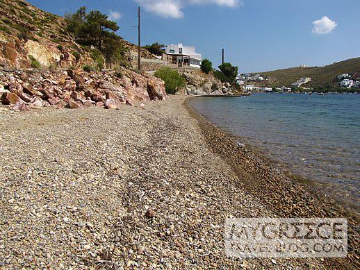 Grikos Bay below Flisvos taverna Patmos