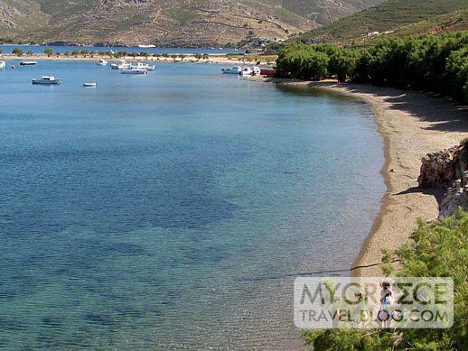 Grikos beach Patmos
