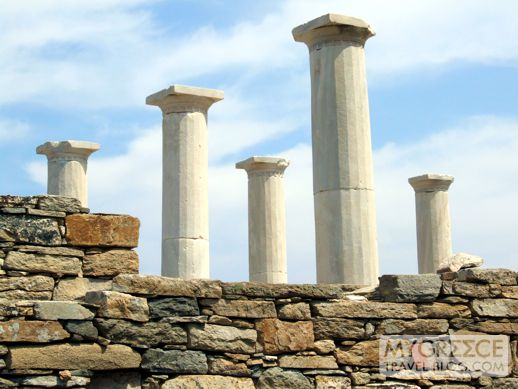 House of Dionysus on Delos island