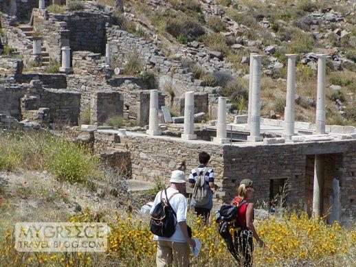 House of Hermes on Delos Island