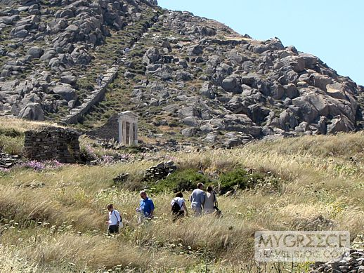 Temple of Isis on Delos Island