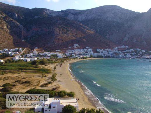 Kamares beach Sifnos
