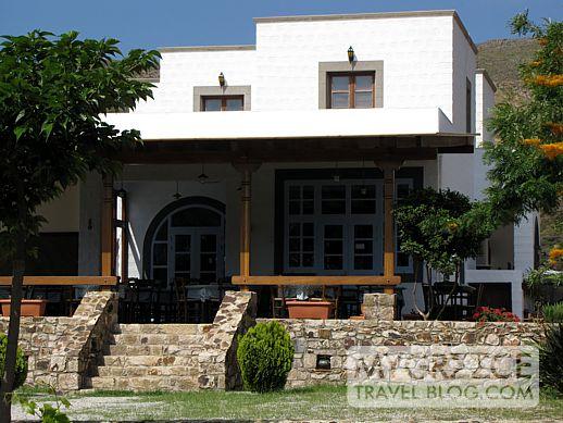 Ktima Petra taverna Grikos Bay Patmos