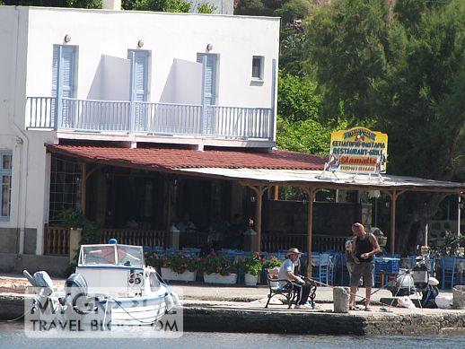 Stamatis taverna at Grikos Bay Patmos