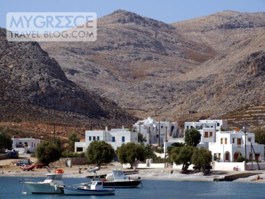 Karavostassis port on Folegandros