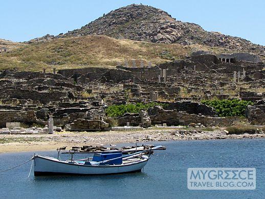 Mt Kynthos on Delos