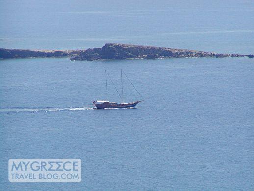 Praso island near Delos