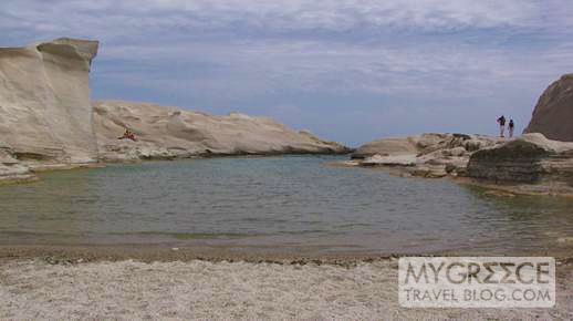 Sarakiniko beach Milos