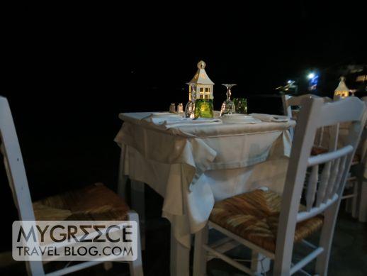 Aqua restaurant Mykonos
