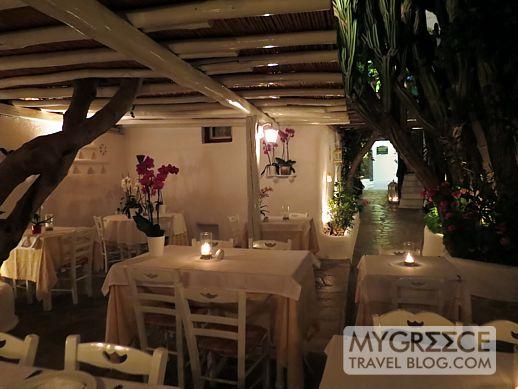Avra restaurant Mykonos