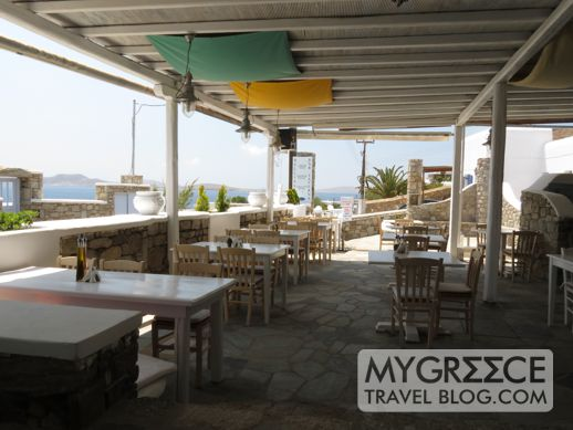 Bellissimo restaurant and bar Agios Ioannis Mykonos
