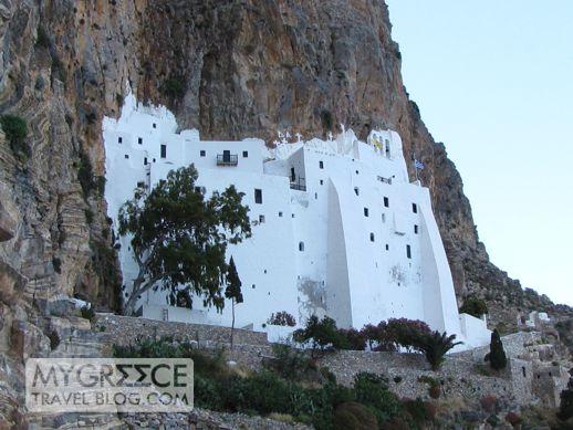 Chozoviotissa monastery on Amorgos