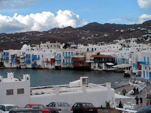 Little Venice Mykonos May 21 2012 photo by Juan Carlos Serna