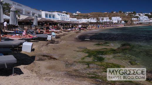 Hotel Acrogiali at Platis Gialos beach Mykonos