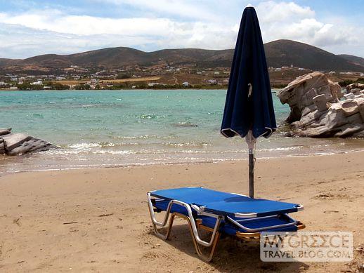 Kolimbithres beach Paros