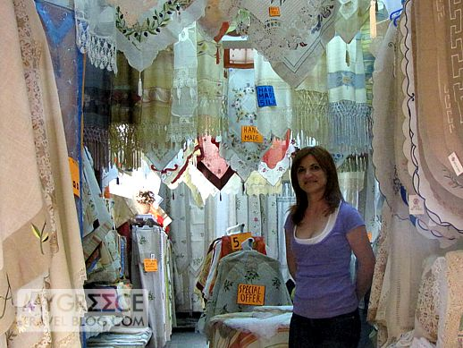 table linens shop in Kos Town