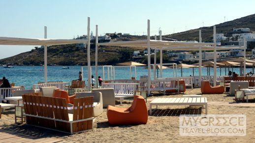 Kuzina Mykonos beach bar