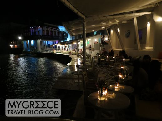 Little Venice Mykonos cocktail bars