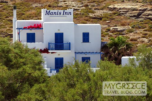 Manis Inn at Naoussa on Paros