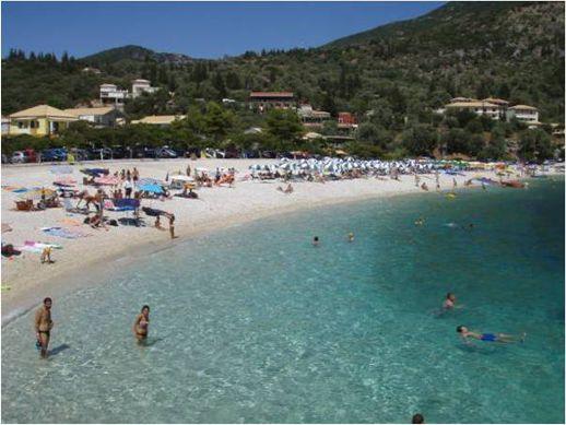 Mikro Gialos beach Lefkada