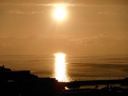 Mykonos sunset on May 21 2012 photo by Juan Carlos Serna