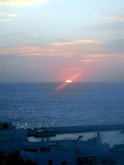 Mykonos sunset by Juan Carlos Serna May 18 2012