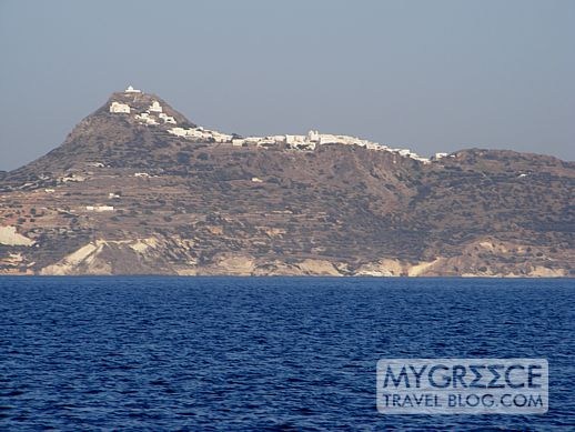 Plaka village on Milos