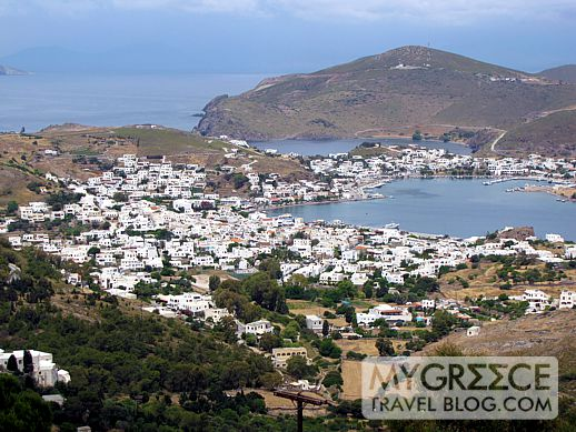 Skala village Patmos island