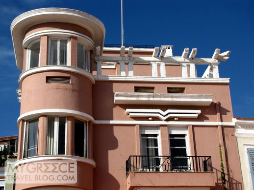a building in Vathi on Samos