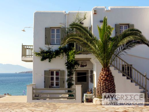 a house in Mykonos Town