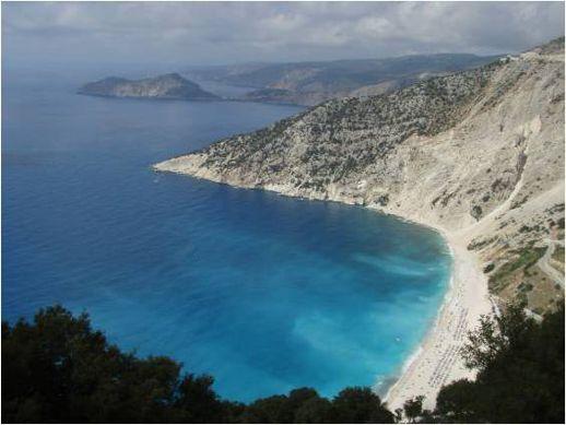 coastline near Asos on Kefalonia